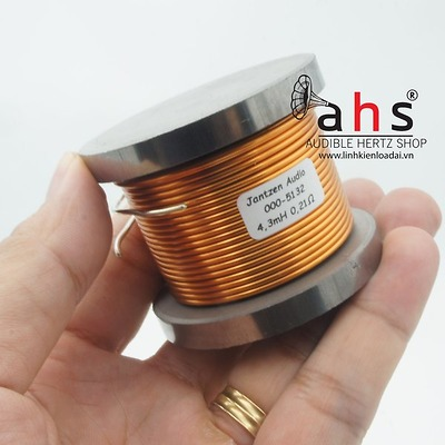 Cuộn cảm Jantzen 4.3mH lõi sắt từ dây 1.4mm