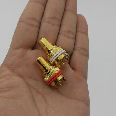Rắc Loa/Cọc RCA/Jack RCA cao cấp CMC-805-CU-G