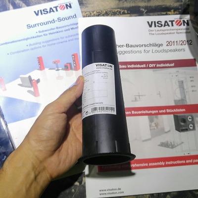 Ống thông hơi Visaton BR 19.24