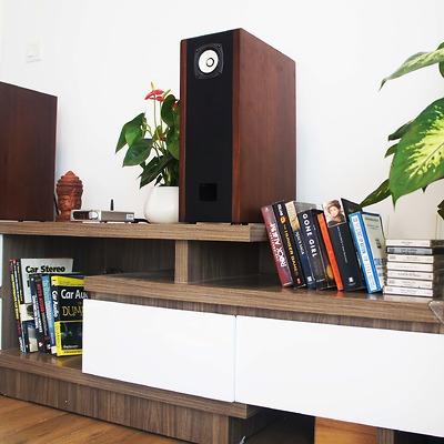Loa Bookshelf toàn dải 8cm Fostex FE83EN