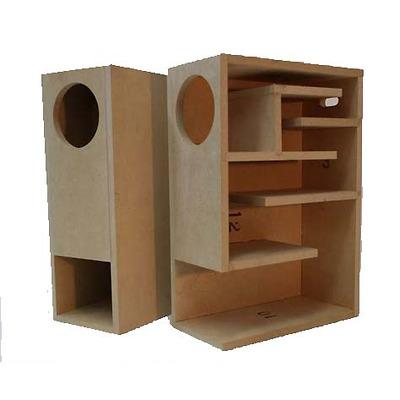 Loa Bookshelf back loaded horn BS-08F cho Fostex FF85WK