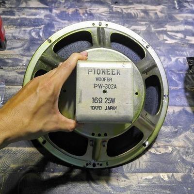 Thiết kế bộ ván hở 3 đường tiếng sử dụng driver 30cm Pioneer PW-302A