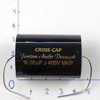 Tụ Jantzen 16uF 400VDC Cross Cap