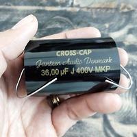 Tụ Jantzen 36uF 400Vdc Cross Cap