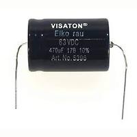 Tụ hóa 22uF 63Vdc Visaton Elko