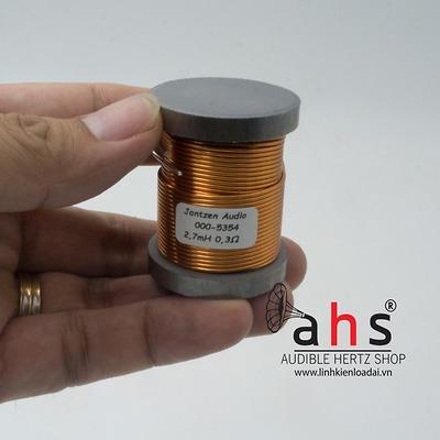 Cuộn cảm 2.7mH Jantzen-Audio lõi sắt từ