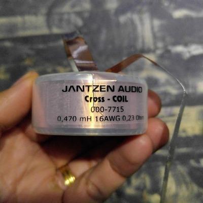 Cuộn cảm lá đồng 0.47mH Jantzen