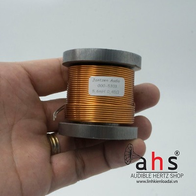 Cuộn cảm 5.6mH Jantzen-Audio lõi sắt từ