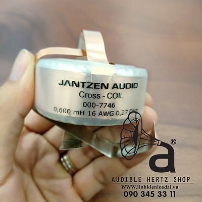 Cuộn cảm 0.6mH Jantzen Cross Coil