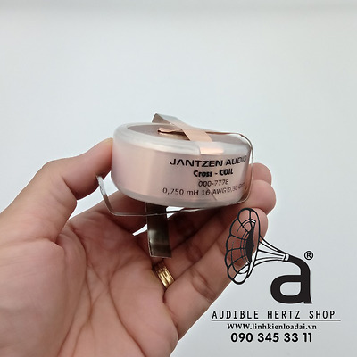 Cuộn cảm 0.75mH Jantzen Cross Coil