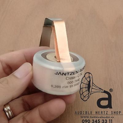 Cuộn cảm 0.2mH Jantzen Cross Coil
