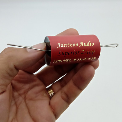 Tụ Jantzen 0.33uF 1200Vdc Superior Z-cap