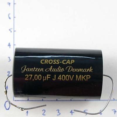 Tụ 27uF 400Vdc Jantzen Cross Cap